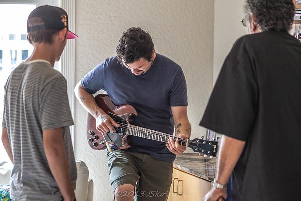 10/25/13 Mike and Zach Zito at BRI Studio
