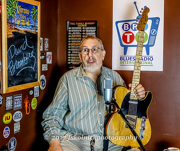 David Bromberg BRI Shoot Funky Biscuit Greenroom 3/16/17