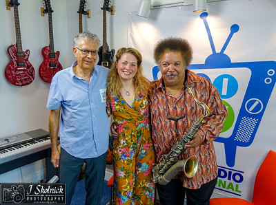 Hayley Jane, Ron Holloway, Jesse Finkelstein, BRI Studio 4/16/18