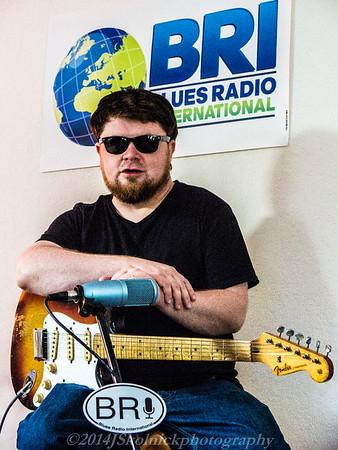7/27/14 Damon Fowler at Funky Biscuit and BRI Studio