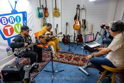 Biscuit Miller and  Bobby B Wilson at BRI Studio withJesse Finkelstein 1.15.19