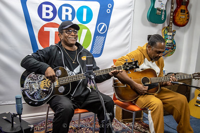 Biscuit Miller and  Bobby B Wilson at BRI Studio withJesse Finkelstein 1.15.19