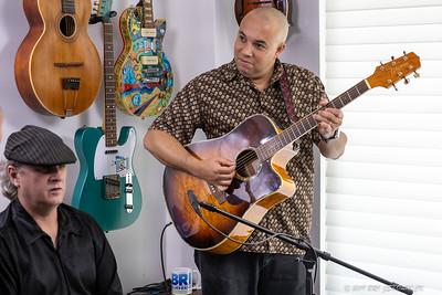 Brandon Santini  At BRI Studio with Timo Arthur -Guitar Jeff Cunningham -- Bass  Ron James - Drums 12.11.19 jskolnickphotography