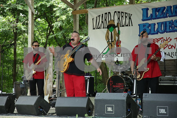 The Corey Dennison Band - Gerry Hundt, Corey Dennison, Nik Skilnik
