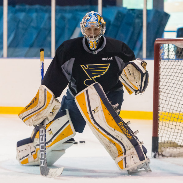 July5,2016 - Hazelwood - MO, Unites States of America. St Louis Blues Prospect during St. Louis Blues 2016 Prospect Camp at Ice Zone