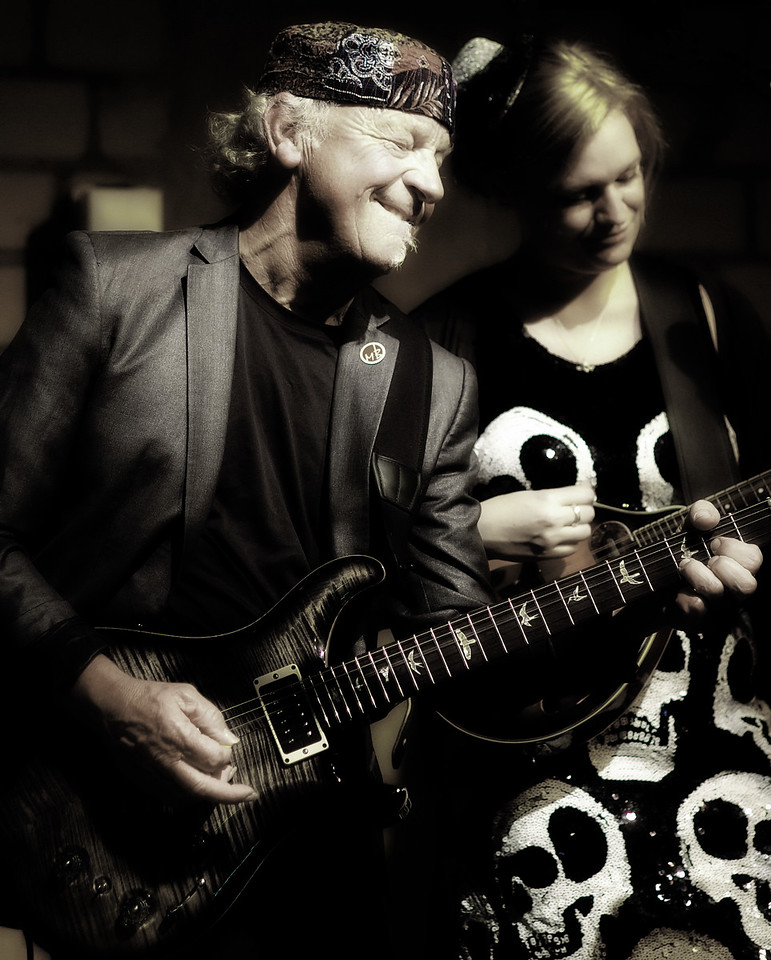 Martin Barre in der Bluesgarage