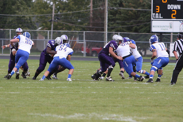 Varsity football vs MSJ  9/22/12