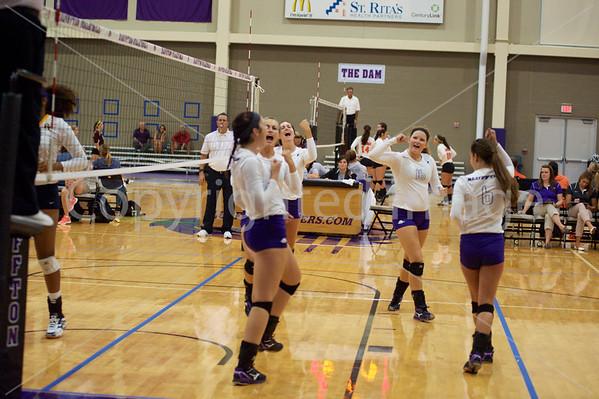 Bluffton Volleyball Spiketacular 090415