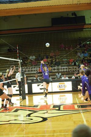 Bluffton Volleyball 091615 v Ohio Northern