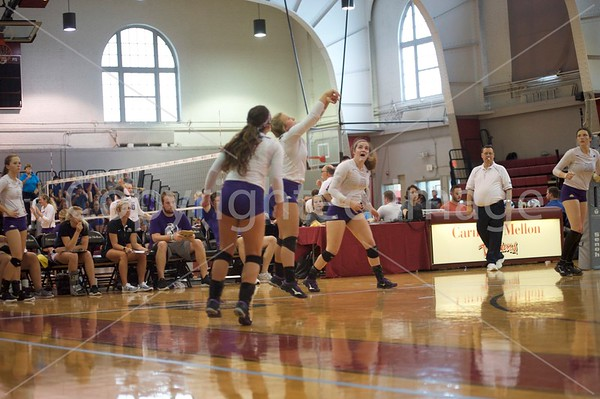 Bluffton Volleyball 092118 Carnegie Tournament
