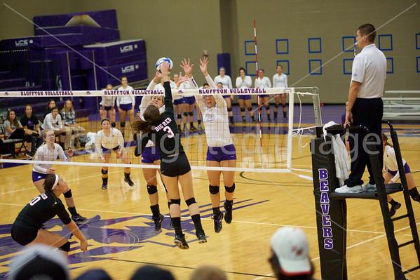 Bluffton Volleyball 092415 Denison