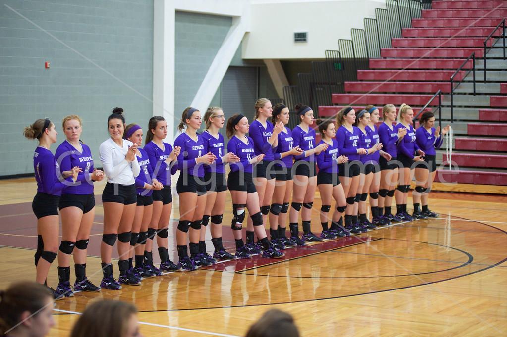 Bluffton Volleyball 092615 Rose-Hulman