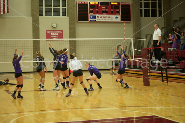 Bluffton Volleyball 100915 Transy