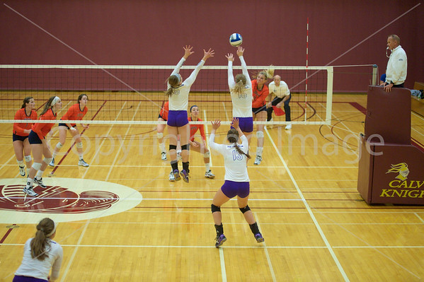Bluffton Volleyball 101615 Calvin