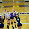 Bluffton Volleyball 102815 Mt St Joseph