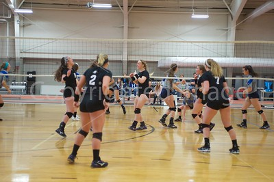 Spring 2017 Bluffton Volleyball 040817