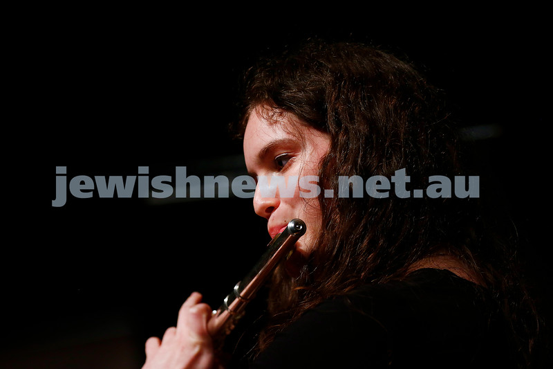 18-9-16. B'nai B'rith Youth Music Eisteddfod. Yael Zamir. Photo: Peter Haskin