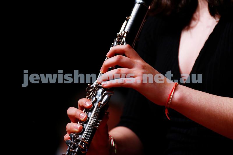 18-9-16. B'nai B'rith Youth Music Eisteddfod. B'nai B'rith Scholarship winner Lily Tamir-Regev. Photo: Peter Haskin