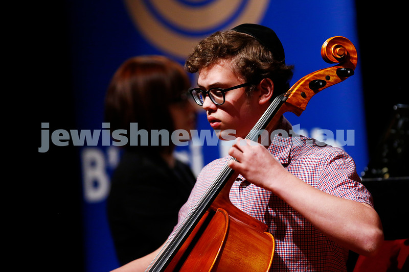 18-9-16. B'nai B'rith Youth Music Eisteddfod. Avraham Yee. Photo: Peter Haskin