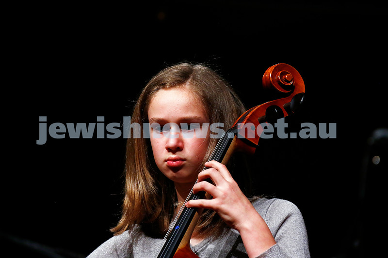 18-9-16. B'nai B'rith Youth Music Eisteddfod. Bella Black. Photo: Peter Haskin