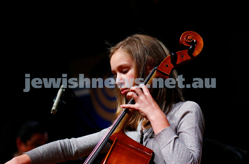 18-9-16. B'nai B'rith Youth Music Eisteddfod. Bella Black. Photo: Peter Haskin