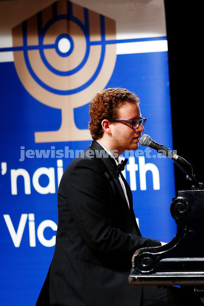 18-9-16. B'nai B'rith Youth Music Eisteddfod. Matan Franco. Photo: Peter Haskin