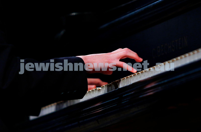 18-9-16. B'nai B'rith Youth Music Eisteddfod. Yehonatan Margolin. Photo: Peter Haskin