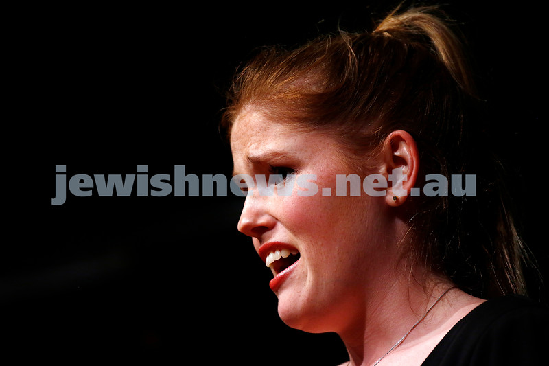18-9-16. B'nai B'rith Youth Music Eisteddfod. Danielle Carey. Photo: Peter Haskin