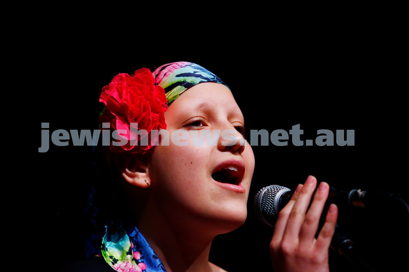 18-9-16. B'nai B'rith Youth Music Eisteddfod. Amira Susskind. Photo: Peter Haskin