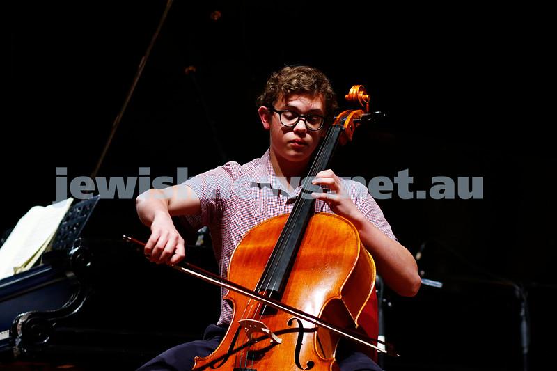 18-9-16. B'nai B'rith Youth Music Eisteddfod. PAvraham Yee. Photo: Peter Haskin