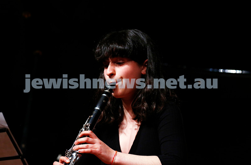 18-9-16. B'nai B'rith Youth Music Eisteddfod. Lily Tamir-Regev. Photo: Peter Haskin
