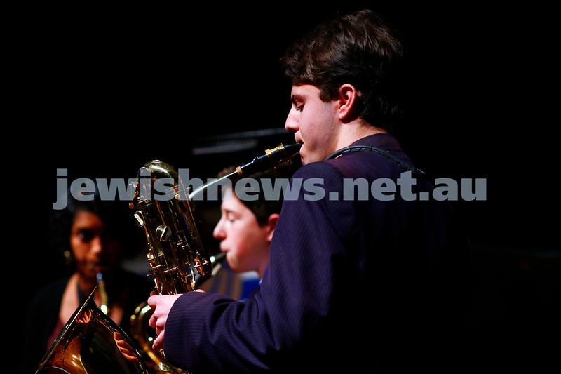 18-9-16. B'nai B'rith Youth Music Eisteddfod. King Davis School Woodwind Quartet. Photo: Peter Haskin