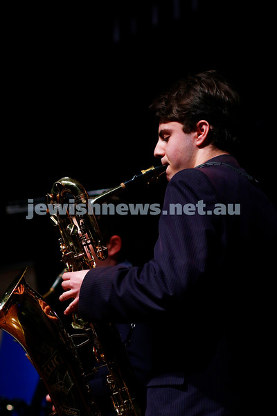 18-9-16. B'nai B'rith Youth Music Eisteddfod. King David School Woodwind Quartet. Photo: Peter Haskin