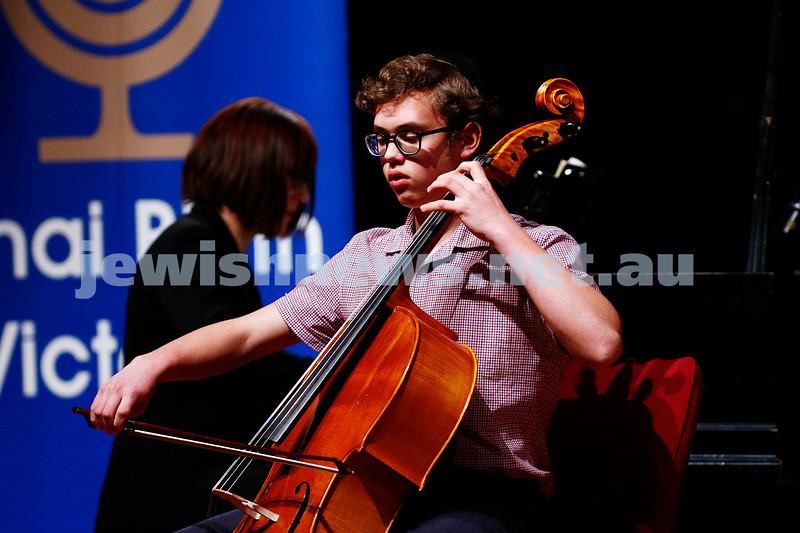 18-9-16. B'nai B'rith Youth Music Eisteddfod. Avraham Yee. Photo: Peter Haskin