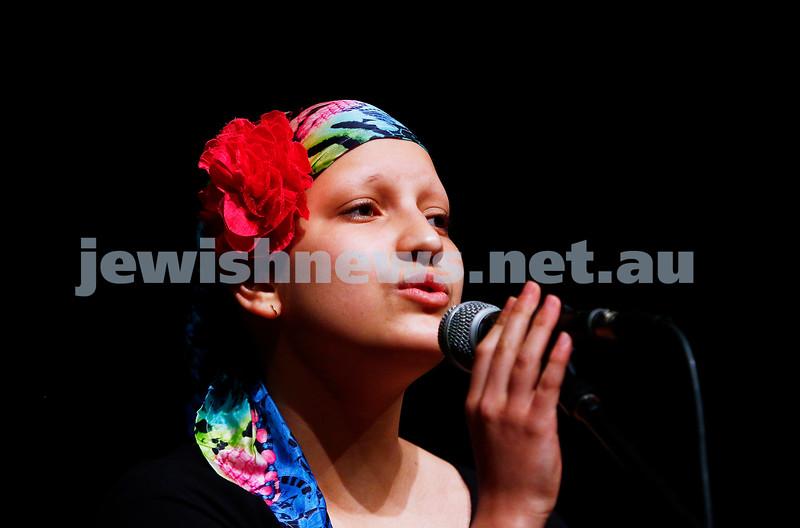 18-9-16. B'nai B'rith Youth Music Eisteddfod. Amira Susskind. Photo: Peter Haskin