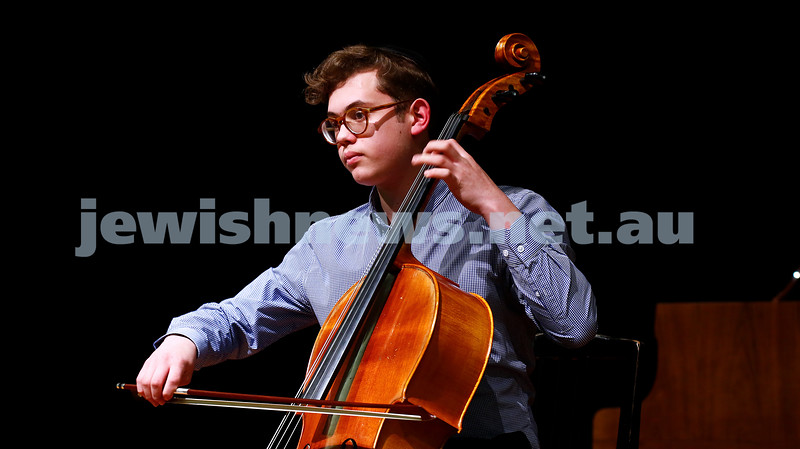 10-9-17. B'nai B'rith Jewish Youth Music Eisteddfod. Avraham Yee. Photo: Peter Haskin