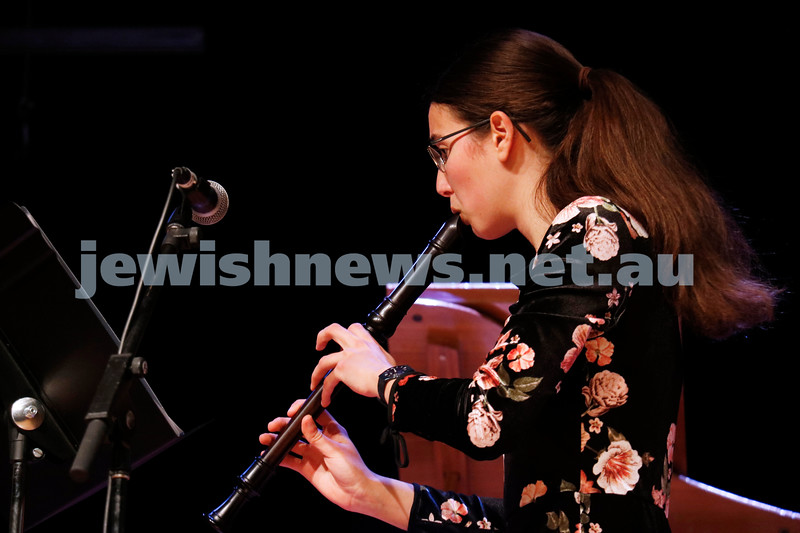 2-9-18. B'nai B'rith Jewish Youth Music Eistedfod finals concert. Glen Eira Town Hall. Orr Zaacks. Photo: Daniel Goodrich.