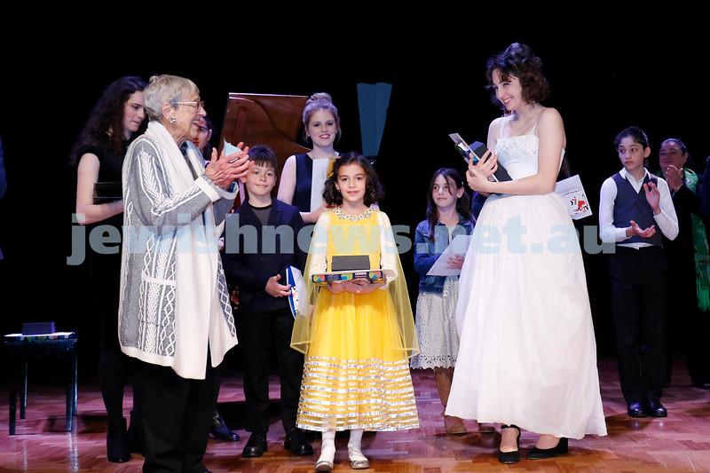2-9-18. B'nai B'rith Jewish Youth Music Eisteddfod finals concert. Glen Eira Town Hall.  Photo: Daniel Goodrich.