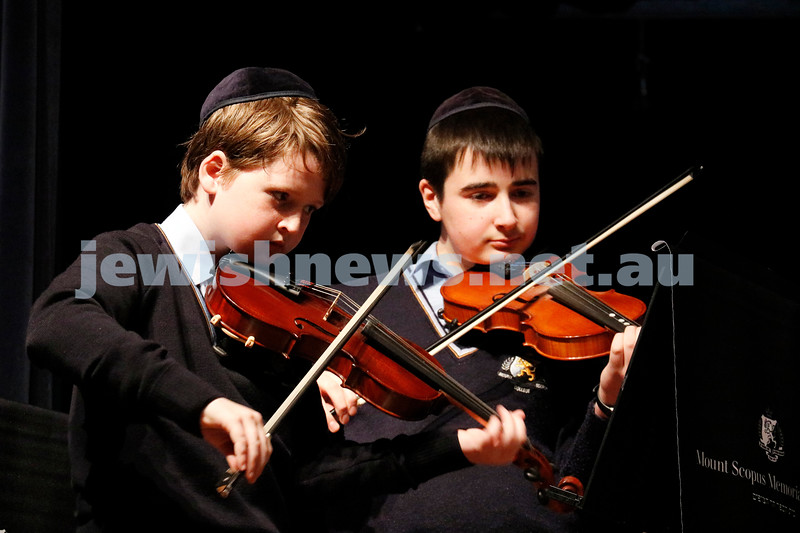 2-9-18. B'nai B'rith Jewish Youth Music Eistedfod finals concert. Glen Eira Town Hall.  Photo: Daniel Goodrich.