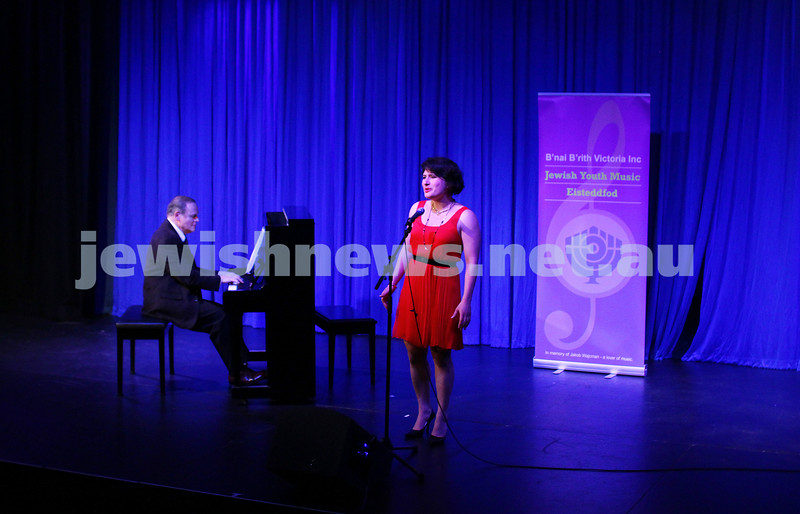 6-9-15. B'nai B'rith Jewish Youth Music Eisteddfod.  Galit Klas. Finals Concert 2015. Photo: Peter Haskin