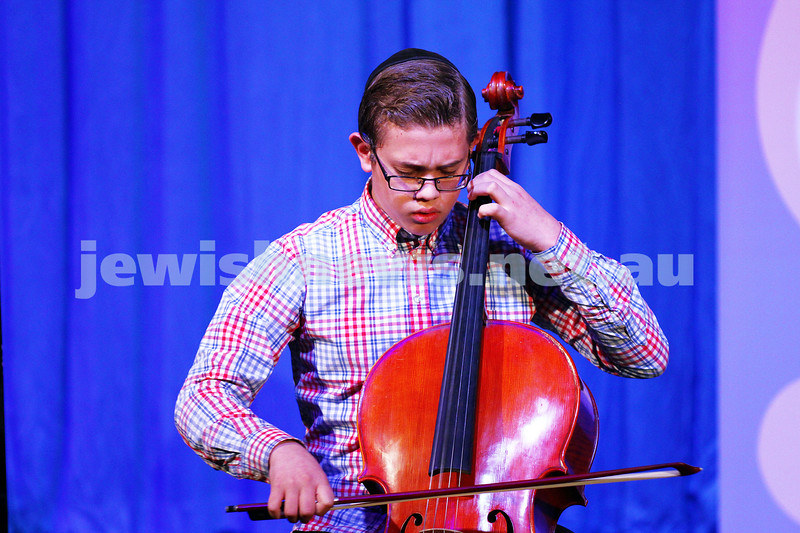6-9-15. B'nai B'rith Jewish Youth Music Eisteddfod.  Avraham Yee. Finals Concert 2015. Photo: Peter Haskin