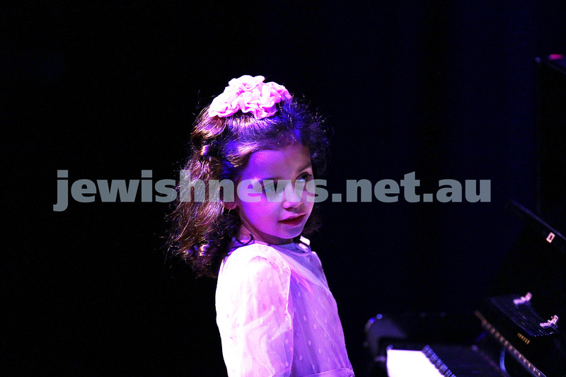 6-9-15. B'nai B'rith Jewish Youth Music Eisteddfod.  Havah Rotblat. Finals Concert 2015. Photo: Peter Haskin
