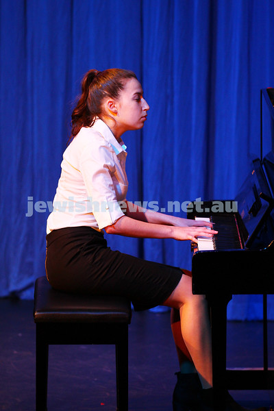 6-9-15. B'nai B'rith Jewish Youth Music Eisteddfod. Maayan Zlatsin. Finals Concert 2015. Photo: Peter Haskin