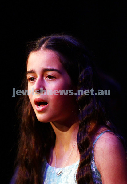 6-9-15. B'nai B'rith Jewish Youth Music Eisteddfod. Michelle Iskhakbaev . Finals Concert 2015. Photo: Peter Haskin