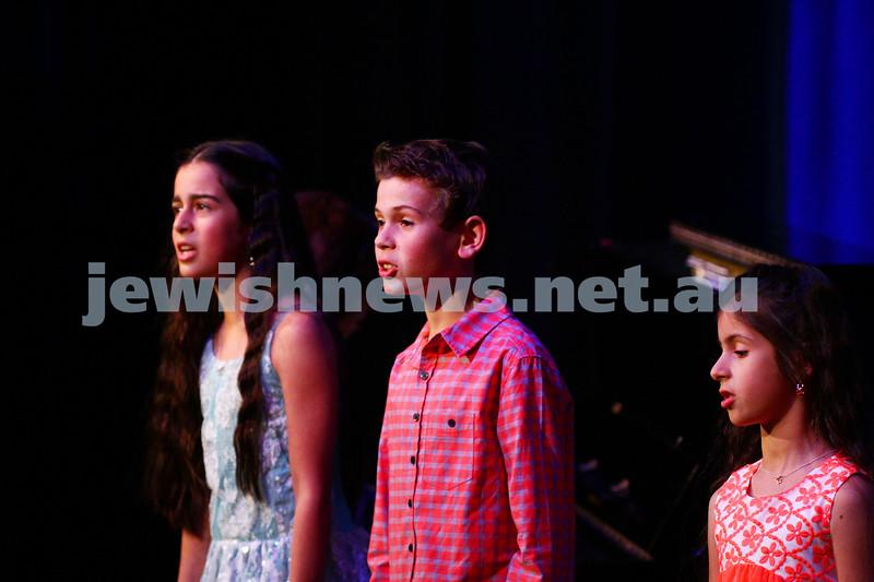 6-9-15. B'nai B'rith Jewish Youth Music Eisteddfod. Michelle Iskhakbaev, Anton Pokryshevsky, Sienna Iskhakbaev. Finals Concert 2015. Photo: Peter Haskin