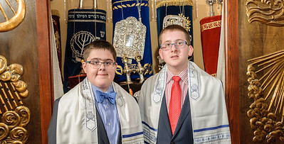 Max and Fred B'nai Mitzvah