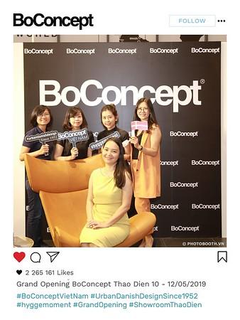 BoConcept Thao Dien Showroom Grand Opening Photo Booth - polaroid instant print photobooth - Chụp hình in ảnh lấy liền Sự kiện tại TP. HCM