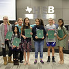 Student artists (and their art teachers) whose works were recognized with Honorable Mentions in the 2018 HEB Holiday Card Contest.