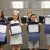 Students who led the Pledge of Alliegiance: Alivia & Andrew from South Euless Elementary, and Kennedy & Preston from Lakewood Elementary.