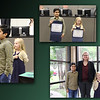 Collage of Gaurav and Alice from Hurst Hills Elementary -- leading the Pledge of Allegiance, holding certificates, and posing with Principal Misty Donaho